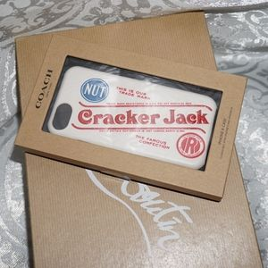 Coach Limited Edition Cracker Jack iPhone case 8 7